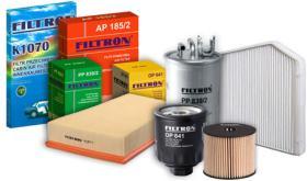 Filtros de aceite, aire, combustible y habitáculo