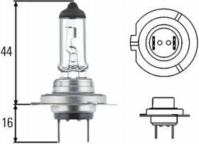 Amolux 779LL - LAMP.H-7 12V 55W HEAVY DUTY