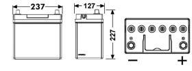 Tudor TB454 - SERIE TUDOR TECHNICA CAPACIDAD AH(2