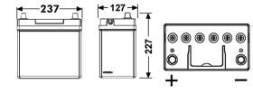 Tudor TB455 - SERIE TUDOR TECHNICA CAPACIDAD AH(2