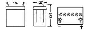 Tudor TB356 - SERIE TUDOR TECHNICA CAPACIDAD AH(2