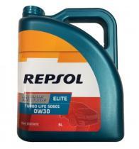 REPSOL 0W30 5L - REPSOL 0W30 50601 1L TURBO LIFE.