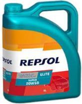 REPSOL 20W50 5L - ELITE 0W30 5L 50601 TURBO LIFE.